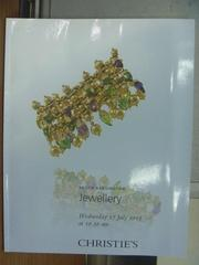 【書寶二手書T8/收藏_PCR】Christie's_2013/7/17_Jewellery