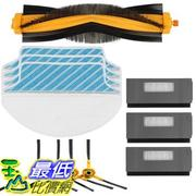[107美國直購] Electropan Replacement Ecovacs Accessory Kit for DEEBOT M80 M80 Pro Robotic Vacuum Cleaner Brush