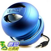 最後一個出清價 X-Mini II XAM4-BL Portable Capsule Speaker, Mono, Blue, Bass System, USB _s11