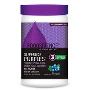 [iHerb] FoodScience, Superior Purples, Blueberry, 11.59 oz (328.5 g)