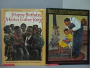 【書寶二手書T9/少年童書_PQF】Happy Birthday Martin Luther King_Uncle Je