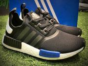 Adidas NMD Runner boost  黑藍 情侶款