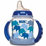 [iHerb] NUK, Transition Cup, Learner Cup, 6+ Months, Blue, 1 Cup, 5 oz (150 ml)