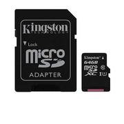 【UHS-I / 64G】金士頓 Kingston Canvas Select (C10) MicroSD記憶卡(SDCS/64GB)
