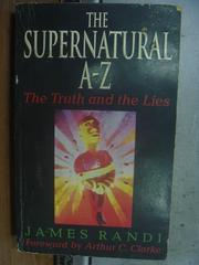 【書寶二手書T3/原文小說_OTY】The Supernatural A-Z_James Randi