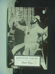 【書寶二手書T5/原文小說_KNO】Three Plays_Jean -Paul Sartre