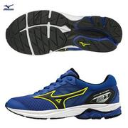 胖媛的店 美津濃 MIZUNO 男 大童跑鞋 WAVE RIDER 21 JR   K1GC182509