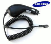Samsung MicroUSB 原廠車充線~適用:S359/S3550/Wave 2/S5250/S5260/S5350/S5500/S5520/S5550/S5660