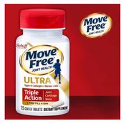 *預購 美國好市多代購 Schiff Move Free Ultra Triple Action, 75 Tablets