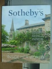 【書寶二手書T4/收藏_PNP】Sotheby's_Inside her world_2016/2-5