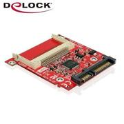 Delock CF card Type I/II to 2.5吋SATA轉接板-91682