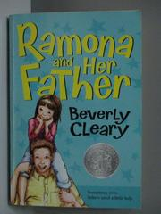 【書寶二手書T1/原文小說_NAF】Ramona and her father_Cleary