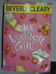 【書寶二手書T4/原文小說_NSV】The Luckiest Girl_Beverly Cleary