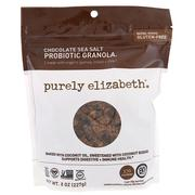 [iHerb] Purely Elizabeth, Probiotic & Gluten-Free Granola, Chocolate Sea Salt, 8 oz (227 g)