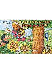 I See a Brown Bee Flying in a Tree(附CD)