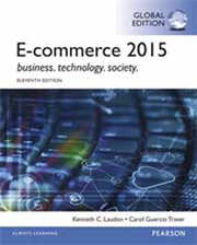 E-COMMERCE 2015 11/E (G-PIE)