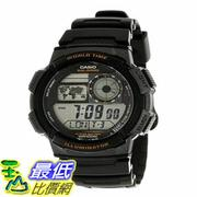 [103美國直購] 男士手錶 Casio Mens AE-1000W-1AVDF Stainless Steel Sport