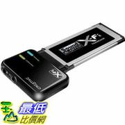 [美國直購 ShopUSA] Creative Labs 音頻 SB0950 ExpressCard Sound Blaster X-Fi Notebook Audio System $1499