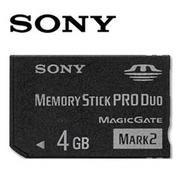 SONY 4GB MS PRO Duo Mark2 記憶卡