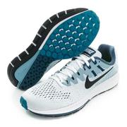 NIKE 男鞋 慢跑鞋 NIKE AIR ZOOM STRUCTURE 20湖水綠-849576101