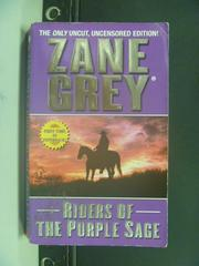 【書寶二手書T8/原文小說_OIJ】Riders of the Purple Sage_Zane Grey