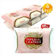 【超強潔淨力】Cussons IMPERIAL LEATHER帝王皂(125g)-6入(粉色) [50958]