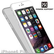 【POWER SUPPORT】iPhone6s Plus Air jacket 保護殼 透明黑(iPhone6 Plus 共用)