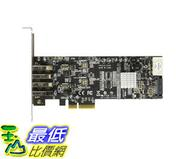 [106美國直購] 4 Port PCI Express (PCIe) SuperSpeed USB 3.0 Card Adapter w/ 2 Dedicated 5Gbps Channels PEXUSB3S42V