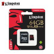 金士頓 64G Kingston Canvas React microSDXC UHS-I U3 記憶卡 保固公司貨