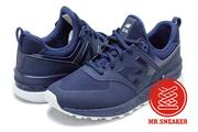 ☆Mr.Sneaker☆NEW BALANCE MS574-SNV Fresh Foam 緩震科技 海軍藍 男女段