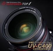 《SUNPOWER M.I.T》TOP1 DMC UV-C400 Filter專業保護濾鏡 77mm口徑