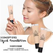 韓國3CE  LIQUID FOUNDATION超模粉底液 30ml【AN Shop】2色供選