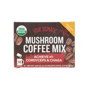 [iHerb] Four Sigmatic, Mushroom Coffee Mix, 10 Packets, 0.09 oz (2.5 g) Each