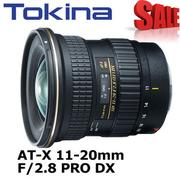 Tokina AT-X 11-20mm PRO DX AF 11-20 mm F2.8 超廣角變焦鏡頭 (平輸)
