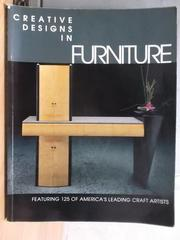 【書寶二手書T2/設計_XBE】Creative Designs in Furniture
