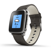 Pebble Time Steel 黑色