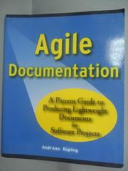 【書寶二手書T4/大學資訊_YHJ】Agile Documentation: A Pattern Guide
