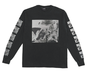 【IGNORED PRAYERS】RUCKUS CREW L/S T-SHIRT T0036