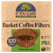 [iHerb] If You Care, Basket Coffee Filters, 100 Filters