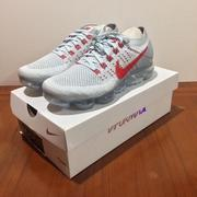 Nike Air Vapormax Flyknit Pure Platinum OG配色 女神著 超級好穿