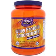 [iHerb] Now Foods, Sports, Whey Protein Concentrate, Natural Unflavored, 1.5 lbs (680 g)