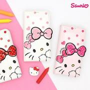 韓國 Hello Kitty 吸盤皮套 手機殼│S6 Edge Plus S7 S8 Note│z7847