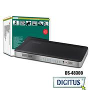 曜兆DIGITUS HDMI ~DS-48300四入二出切換器(付遙控器)