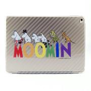 Moomin 嚕嚕米正版授權 -【 Happy Family(灰) 】:《 iPad Mini/Air/Pro 》水晶殼+Smart Cover(磁桿)