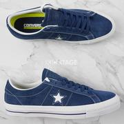 KS▸CONVERSE ONE STAR LUNARLON 1970 復刻 深藍 低筒 麂皮 男女【149867C】