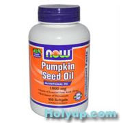 【NOW 健而婷】Pumpkin Seed Oil 天然南瓜子油