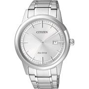 CITIZEN星辰AW1231-58A深情似海光動能男錶/白面40mm