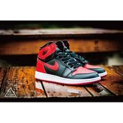 ISNEAKERS Air Jordan 1 Retro High OG 禁穿 黑紅 復刻 櫻木 女鞋