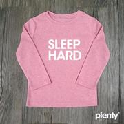 【Plenty Collection】秋冬款親子裝 Tshirt-sleep hard 共4色