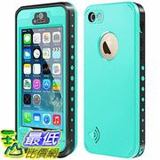 [106美國直購] 防水手機殼 B01IIF651G iPhone 5S / SE Waterproof Case, Waterproof Dust Proof Snow Proof Shock Proof Case